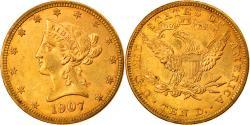 Us Coins - Coin, United States, Coronet Head, $10, Eagle, 1907, Philadelphia,