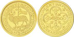 World Coins - France, Medal, Reproduction Agnel Philippe, MS(63), Gold