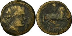 Ancient Coins - Coin, Spain, As, Sekaisa, VF(20-25), Copper