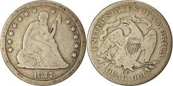Us Coins - Coin, United States, Seated Liberty Quarter, 1877, Carson City, ,KM A98