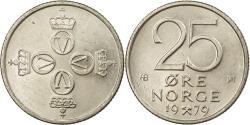 World Coins - Coin, Norway, Olav V, 25 Öre, 1979, , Copper-nickel, KM:417