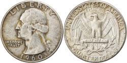 Us Coins - Coin, United States, Washington Quarter, Quarter, 1960, U.S. Mint, Philadelphia
