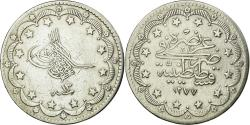 World Coins - Coin, Turkey, Abdul Aziz, 20 Kurush, 1861, Qustantiniyah,,Silver,KM 693