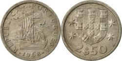 World Coins - Coin, Portugal, 2-1/2 Escudos, 1968, , Copper-nickel, KM:590