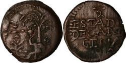 World Coins - Coin, Colombia, 1/2 Réal, 1812, Cartagena, , Copper, KM:D2
