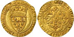 Ancient Coins - Coin, France, Charles VI, Ecu d'or, Mirabel, Rare, , Gold
