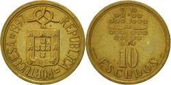 World Coins - Coin, Portugal, 10 Escudos, 1997, , Nickel-brass, KM:633