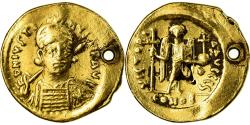 Ancient Coins - Coin, Justin I, Solidus, Constantinople, , Gold, Sear:55