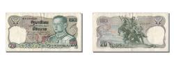 World Coins - Thailand, 20 Baht, KM #88, EF(40-45), 6H2548201