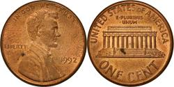 Us Coins - Coin, United States, Lincoln Cent, Cent, 1992, U.S. Mint, Philadelphia