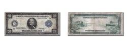 Us Coins - United States, Twenty Dollars, 1914, KM #623, VF(20-25), 7G