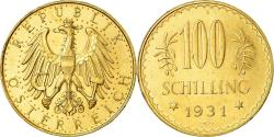 World Coins - Coin, Austria, 100 Schilling, 1931, , Gold, KM:2842