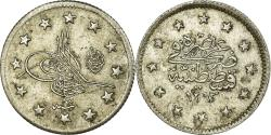 World Coins - Coin, Turkey, Abdul Hamid II, 2 Kurush, 1892/AH1293, Qustantiniyah,