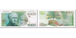 World Coins - Banknote, Belgium, 5000 Francs, UNDATED (1982-1992), KM:145a, AU(55-58)