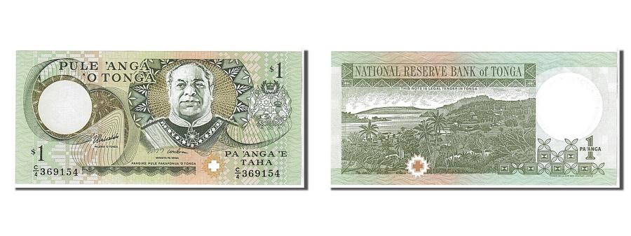 World Coins - Tonga, 1 Pa'anga, 1995, KM #31c, UNC(65-70), 369154