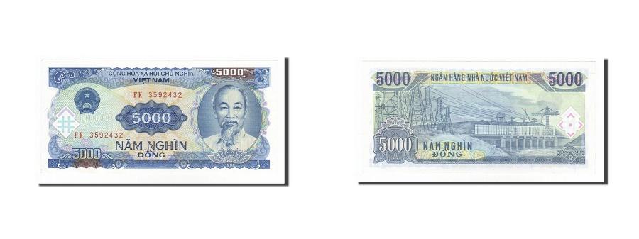 World Coins - Viet Nam, 5000 Dng, 1991, KM #108a, UNC(63), FK3592432