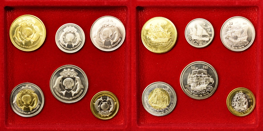 World Coins - Juan De Nova Island, Set, 2013, , 0.00