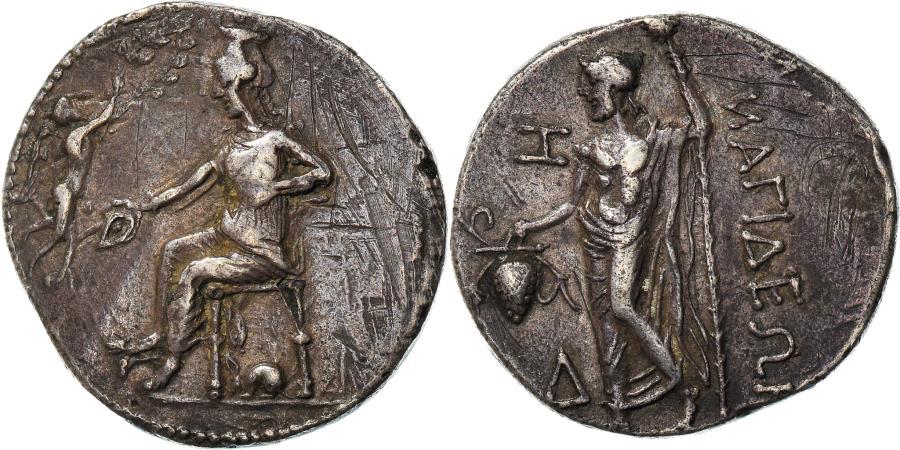 Ancient Coins - Coin, Cilicia, Nagidos, Stater, 385/4-375 BC, , Silver