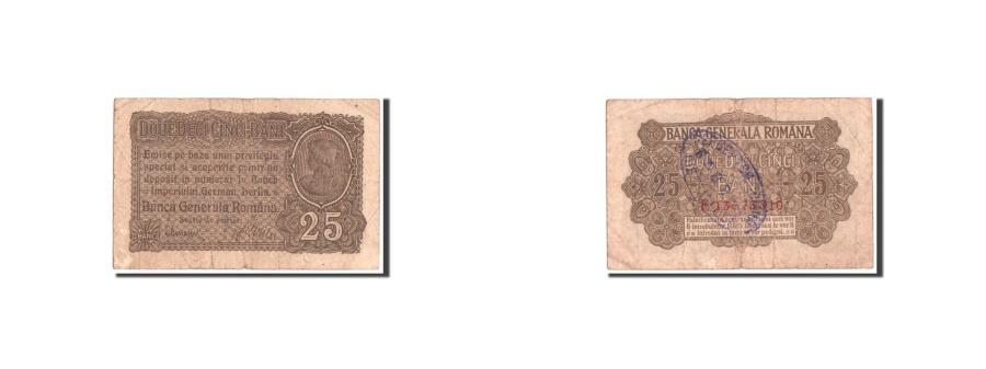 World Coins - Romania, 25 Bani, 1917, KM:M1