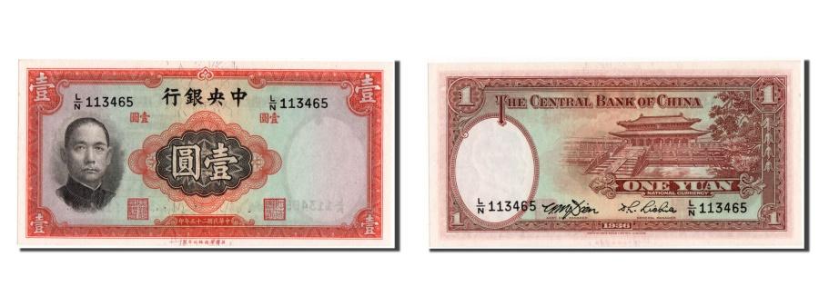World Coins - China, 1 Yüan, 1936, KM #216d, UNC(65-70), L/N 113465