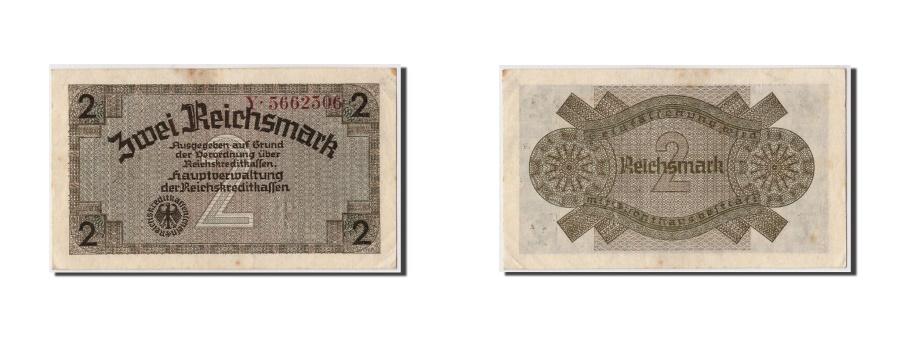 World Coins - Germany, 2 Reichsmark, KM #R137a, AU(55-58), Y.5662506