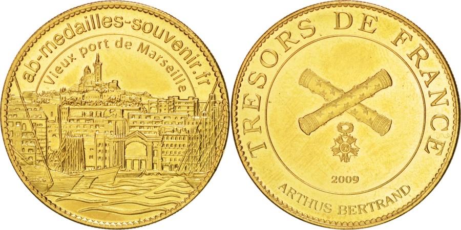 World Coins - Tourist Token, Vieux Port de Marseille, 2009, , Arthus Bertrand