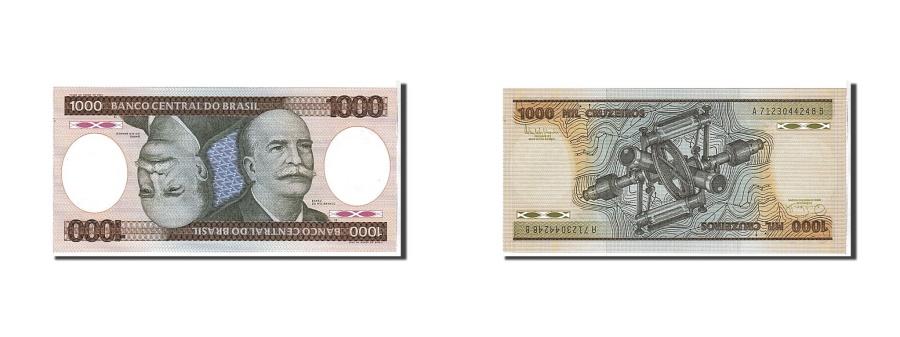 World Coins - Brazil, 1000 Cruzeiros, 1985, KM #201c, UNC(65-70), A7123044248B