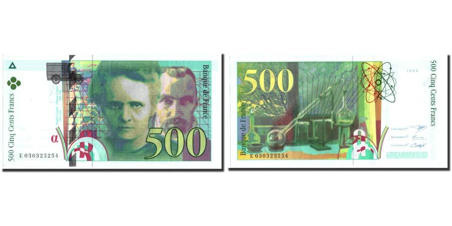 World Coins - France, 500 Francs, 500 F 1994-2000 ''Pierre et Marie Curie'', 1994, KM:160a