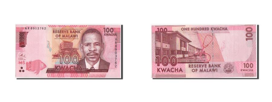 World Coins - Banknote, Malawi, 100 Kwacha, 2014, KM:New, UNC(65-70)