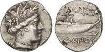 Ancient Coins - Macedon, Maenad, Tetrobol, Amphipolis, Silver, Sear:1384