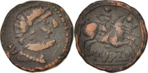 Ancient Coins - Celtiberians, Titiakos, Bronze Unit AE23, EF(40-45), Bronze, SNG BM Spain:1074-5