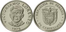 World Coins - Panama, 2-1/2 Centesimos, 1975, Franklin Mint, MS(64), Copper-Nickel Clad