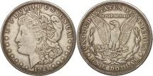 Us Coins - United States, Morgan Dollar,1921, San Francisco, EF(40-45), KM 110