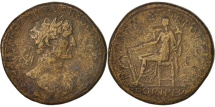 Ancient Coins - Hadrian, Sestertius, 117, Roma, F(12-15), Bronze, RIC:541