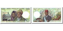 World Coins - Comoros, 5000 Francs, Undated (1976), KM:12a, UNC(65-70)