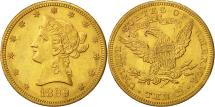 Us Coins - United States, Coronet Head, $10, 1899, New Orleans, AU(50-53), Gold, KM:102