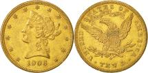 Us Coins - United States, Coronet Head, $10, 1906, New Orleans, AU(55-58), Gold, KM:102