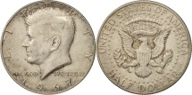 Us Coins - United States, Kennedy Half Dollar, 1967, U.S. Mint, Philadelphia, AU(55-58)