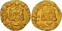 Michael II the Amorian, Solidus, Syracuse, AU(55-58), Gold, Sear:1645