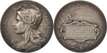 World Coins - France, Medal, Syndicat des Patrons Boulangers de Lille, Business & industry