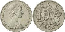 World Coins - Australia, Elizabeth II, 10 Cents, 1976, AU(50-53), Copper-nickel, KM:65