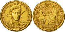 Constantius II, Solidus, Antioch, EF(40-45), Gold, RIC:162