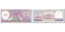 Surinam, 100 Gulden, 1982, KM:128b, 1985-11-01, UNC(65-70)