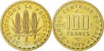World Coins - Coin, Mali, 100 Francs Essai, 1975, Paris, MS(65-70), Nickel-brass, KM E2
