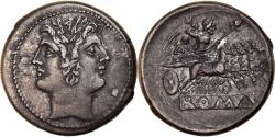 Ancient Coins - Coin, Anonymous, Didrachm, 225 - 214 BC, Roma, , Silver, Crawford:30/1