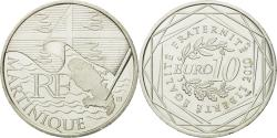 Ancient Coins - France, 10 Euro, Martinique, 2010, , Silver, KM:1662
