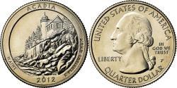 Us Coins - Coin, United States, Maine, Quarter, 2012, U.S. Mint, Philadelphia,