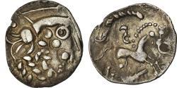 Ancient Coins - Coin, Ambiani, Denarius, Rare, , Silver, Delestrée:S2428A