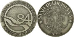 Us Coins - United States of America, Medal, Louisiana World Exposition, New Orléans, 1984