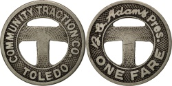 Us Coins - United States, Token, Community traction co TOLEDO